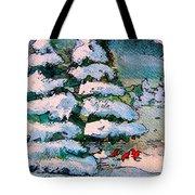 A Winter Feast Tote Bag