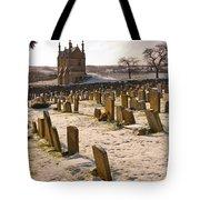 A Winter Graveyard Tote Bag