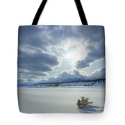 A Winter Sky Tote Bag by Idaho Scenic Images Linda Lantzy