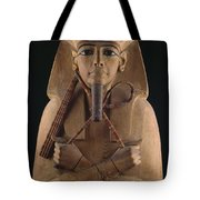 A Wooden Coffin Case Of The Pharaoh Tote Bag