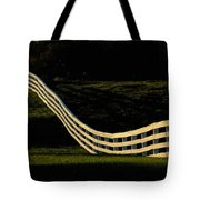 A Wooden Fence At The Shaker Village Tote Bag