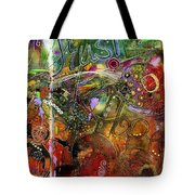 A World-full Of Hope Makes Room For Trust Tote Bag