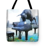 A World Of Art And Music Tote Bag