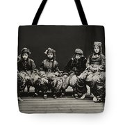 A Young Group Of Well Dressed Nepali Tote Bag