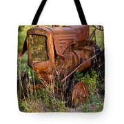 Abandonded Farm Tractor 1 Tote Bag