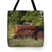Abandonded Farm Tractor 2 Tote Bag