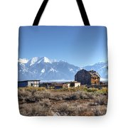 Abandonded Homestead In San Luis Valley Tote Bag