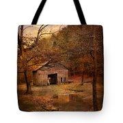 Abandoned Barn Tote Bag