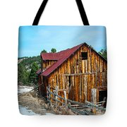 Abandoned Barn Ll Tote Bag