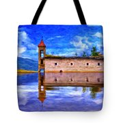 Abandoned Church In Macedonia Tote Bag