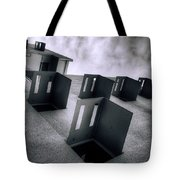 Abandoned Cities Of The Mind Tote Bag