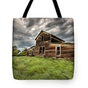 Abandoned Farm Buildings Saskatchewan Tote Bag