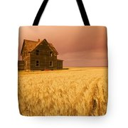 Abandoned Farm House, Wind-blown Durum Tote Bag