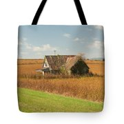 Abandoned Farmhouse In Field 2 Tote Bag