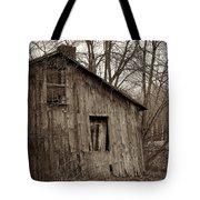 Abandoned Farmstead Facade Tote Bag
