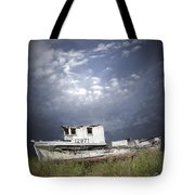 Abandoned Fishing Boat In Washington State Tote Bag