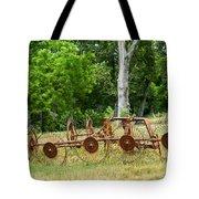 Abandoned Hay Rake 2 Tote Bag