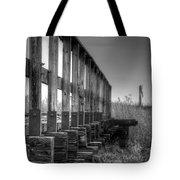 Abandoned Railway  Tote Bag