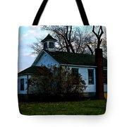 Abandoned School House Tote Bag