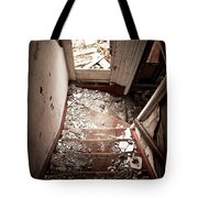 Abandoned Stairs 2 Tote Bag