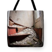 Abandoned Stairs Tote Bag