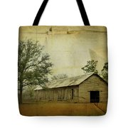 Abandoned Tobacco Barn Tote Bag