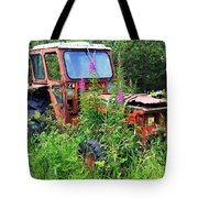 Abandoned Tractor Tote Bag