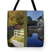 Abbotts Pond - Gently Cross Your Eyes And Focus On The Middle Image Tote Bag