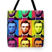 Abe Pop Tote Bag