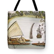 Abel Tasman Expedition 1643 Tote Bag