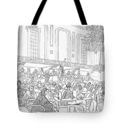 Abolition Cartoon, 1859 Tote Bag