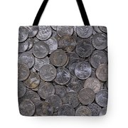 About 75 Cents  Tote Bag