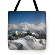 Above Mckinley Tote Bag