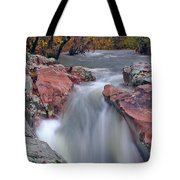 Above The Castor River Shut Ins II Tote Bag