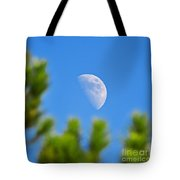 Above The Pines Tote Bag