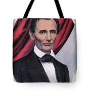 Abraham Lincoln, Republican Candidate Tote Bag by Photo Researchers