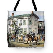 Abraham Lincolns Home Tote Bag