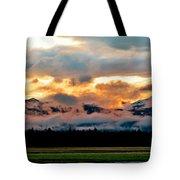 Absaroka Sunset Tote Bag