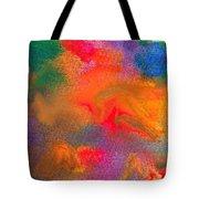 Abstract - Crayon - Melody Tote Bag