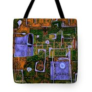 Abstract 790 Tote Bag