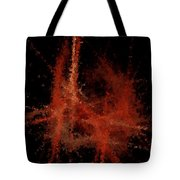 Abstract A Paris Evening Tote Bag