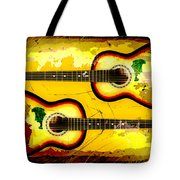 Abstract Acoustic Tote Bag