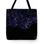 Abstract Art Series. Blue Fantasy. Tote Bag