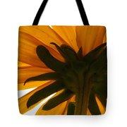 Abstract Black Eyed Susan II Tote Bag
