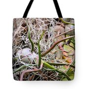 Abstract Caput Medusae Tote Bag