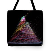 Abstract Christmas Tree 1 Tote Bag