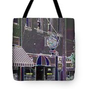 Abstract Coffee House Tote Bag