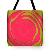 Abstract Color Merge Tote Bag