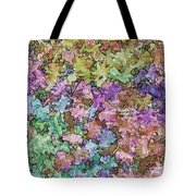 Abstract Colors Pale Tote Bag