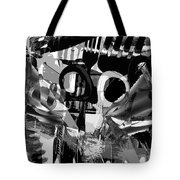 Abstract Composition Of Kitchen Utensils Tote Bag